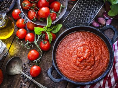 Sốt cà chua cho pizza